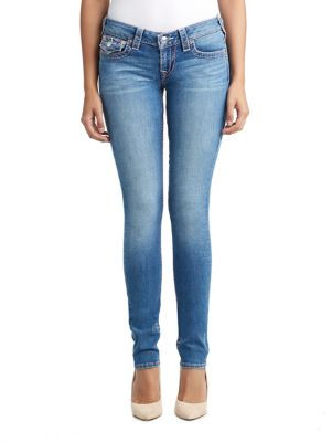 WOMENS BIG T SKINNY JEAN W FLAP