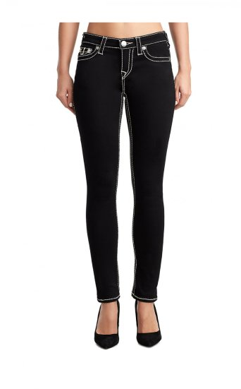 WOMENS BIG T HALLE SUPER SKINNY JEAN W/ FLAP