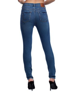 WOMENS HALLE HIGH RISE SUPER SKINNY JEAN