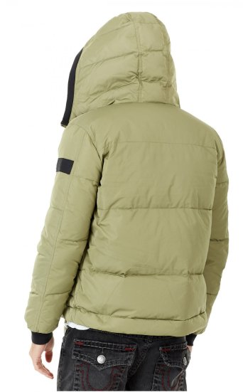 HOODED DOWN JKT
