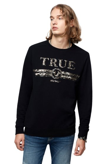 CREW SWEAT TRUCCI SEQUIN