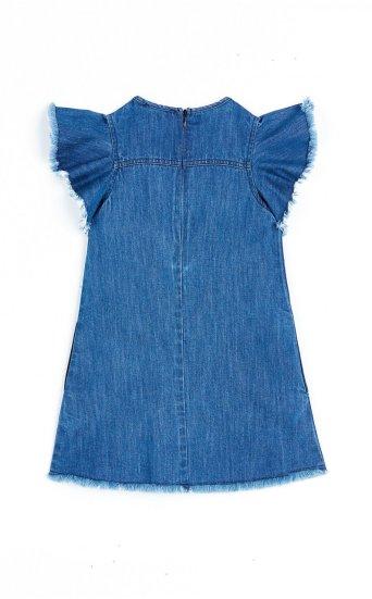 RAW EDGE FLUTTER DRESS
