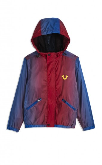 BOYS OMBRE NYLON JACKET