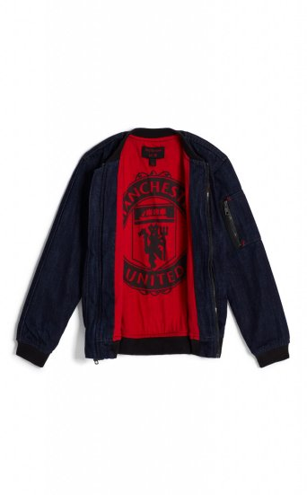 KIDS TR X MANCHESTER UNITED BOMBER JACKET