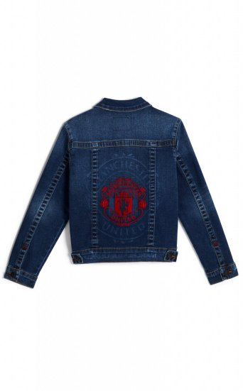 BOYS TR X MANCHESTER UNITED TRUCKER JACKET