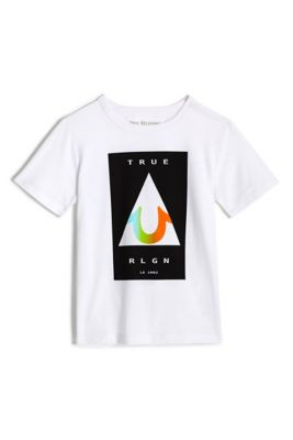 BOYS GRADIENT TRIANGLE TEE