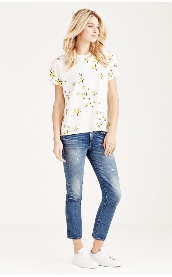 CORA MID RISE STRAIGHT CROP