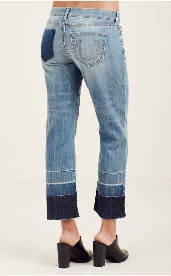 RELAXED STRAIGHT WOMENS JEAN