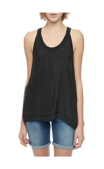 SILK RELAXED TANK