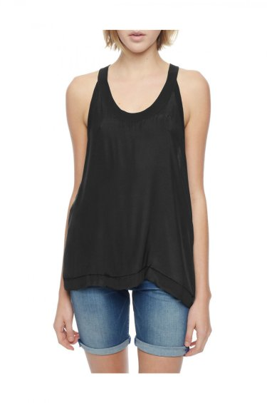 image of SILK RELAXED TANK