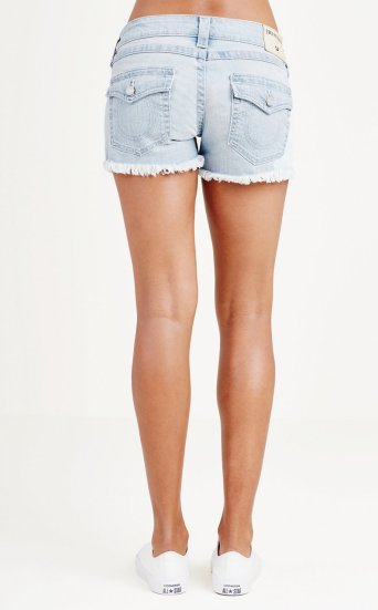 KEIRA LOW RISE SHORT W FLAPS