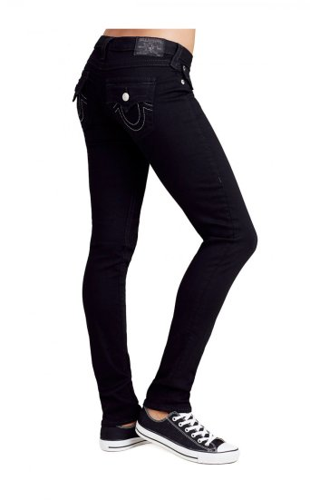 WOMEN'S SKINNY FIT BLACK JEAN