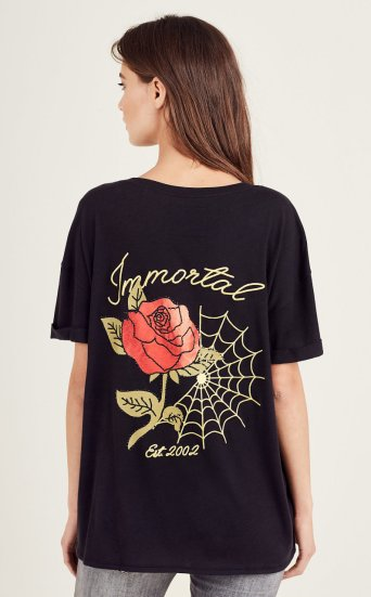 WEB N ROSE DEEP V