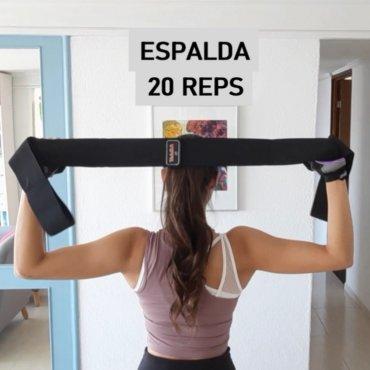 Rutina con Banda de Yoga y Pilates Verri para Brazo, Espalda y Pecho - Verri