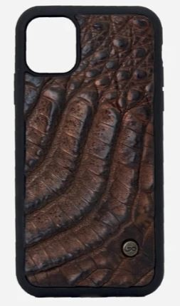 Case Iphone 11 Cocodrilo cobrizo