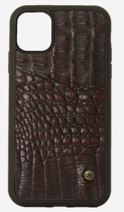 Case Iphone 11 Cocodrilo vino