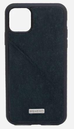 Case Iphone 11 Pro Max Vacuno negro