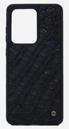 Case Samsung S20 Ultra Cocodrilo Negro Negro
