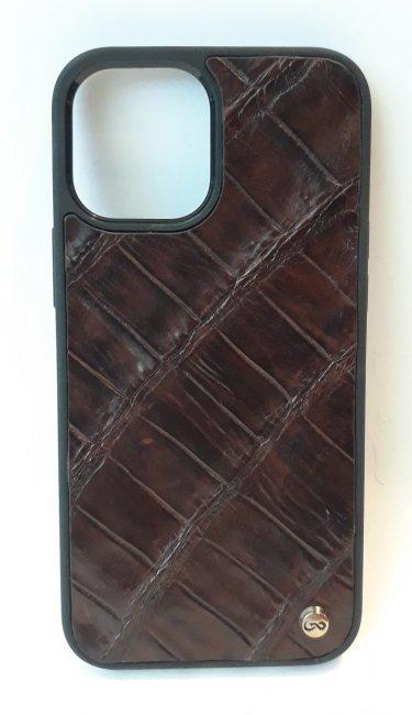 Case Iphone 12 pro Max Cocodrilo