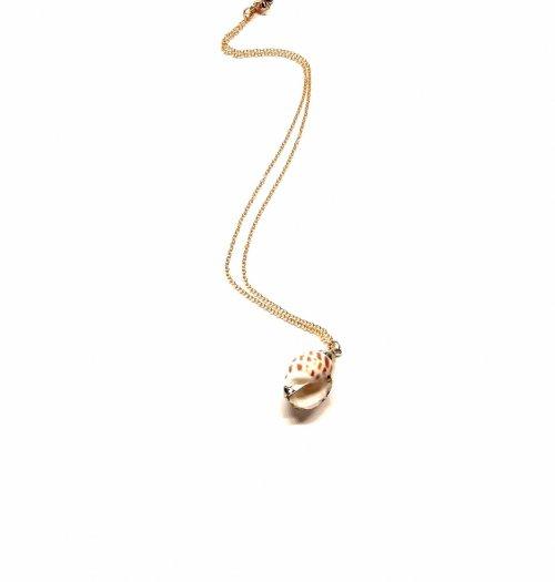 Collar caracol biselado Oro. G. Ch. Oro Caracol biselado