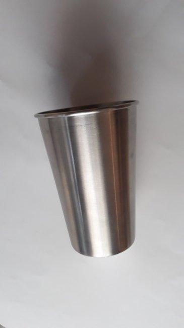 vaso de acero inoxidable