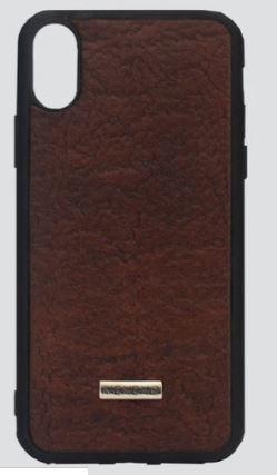 Phone Case Iphone X Vacuno café