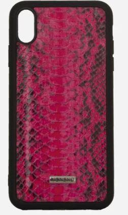 Phone case Iphone X piton rosa