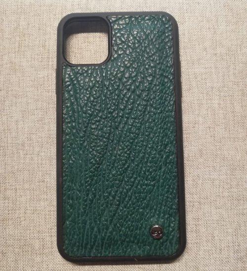Phone case iphone 11 pro max Tiburón verde
