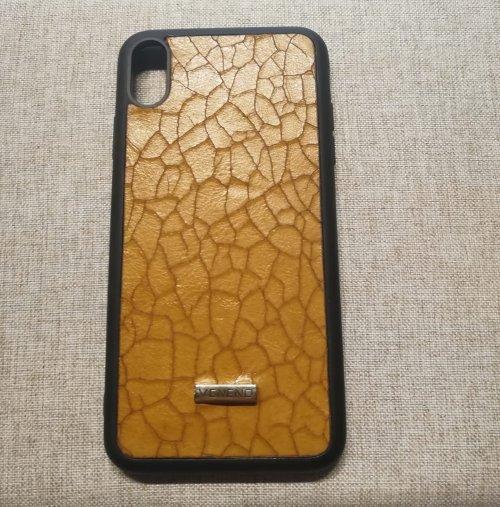 Phone case iphone XS Res amarillo
