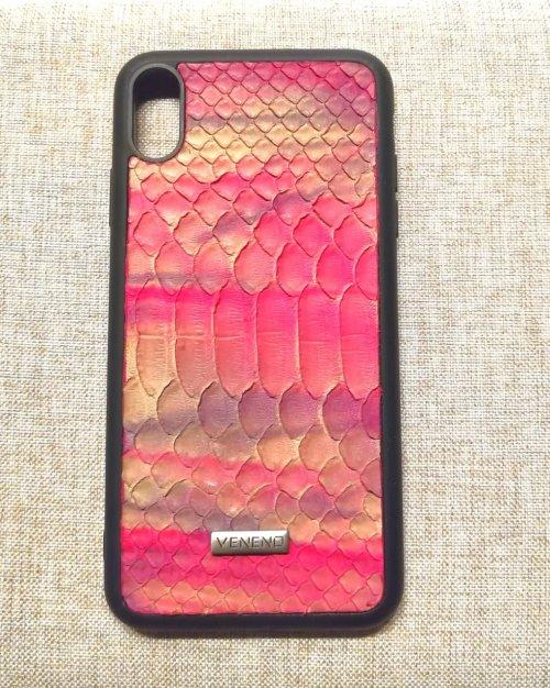 Phone case iphone XS piton buble gum