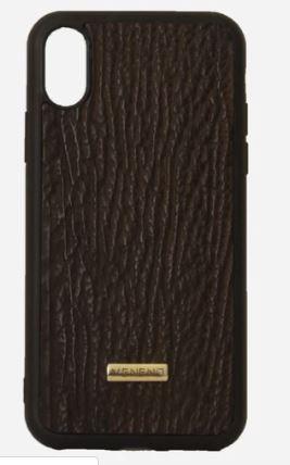 Phone case iphone XS tiburon negro