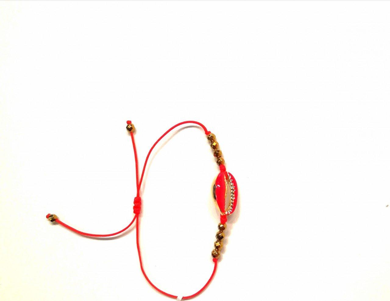 Pulsera Hematita Roja. Ch. Oro Hematita/Chapa Oro