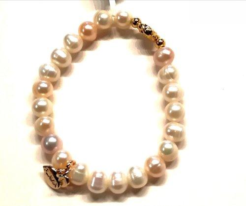 Pulsera perla y Oro PERLA